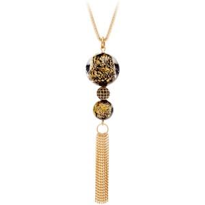 Luxusný náhrdelník s vinutými Perlou Ribes