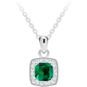 Strieborný náhrdelník Minas