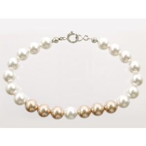 Swarovský perlový náramok