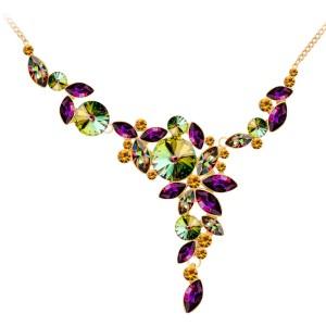 Luxusný trblietavý náhrdelník Irgi