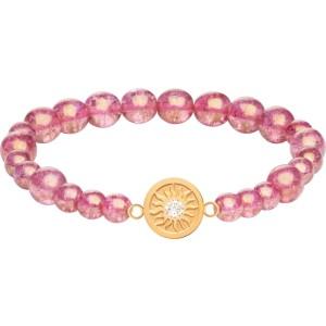 Náramok z práskaných perlí Rosina