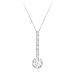 Strieborný náhrdelník Lucea