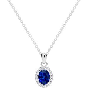 Strieborný náhrdelník Yala