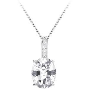 Strieborný náhrdelník Tasmania